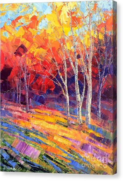 Sunlit Shadows Canvas Print