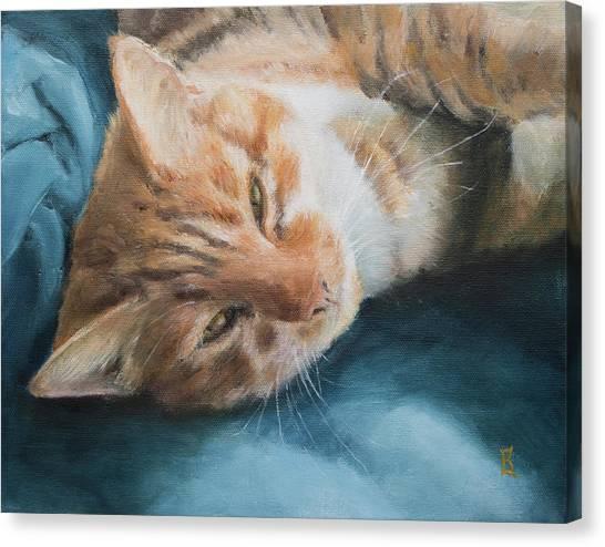 Sunlover Canvas Print