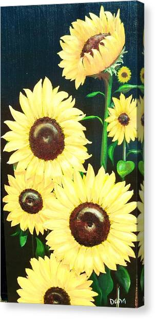 Sunny And Share Canvas Print by Dana Redfern
