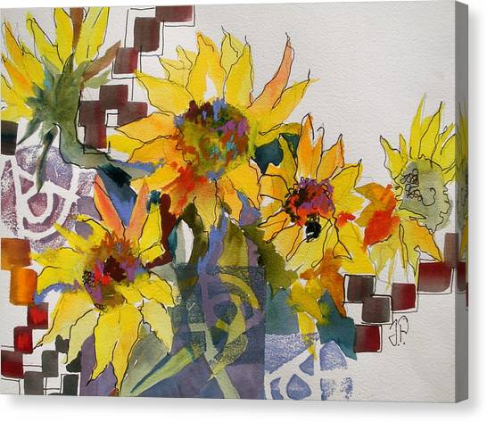 Canvas Print - Sunny Boooms by Jane Ferguson
