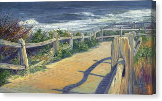 Cape Cod Canvas Print - Sunny Day by Lucie Bilodeau