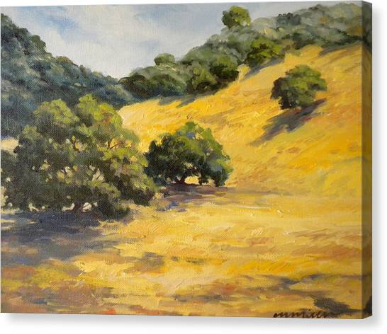 Sunny Hills Canvas Print by Maralyn Miller