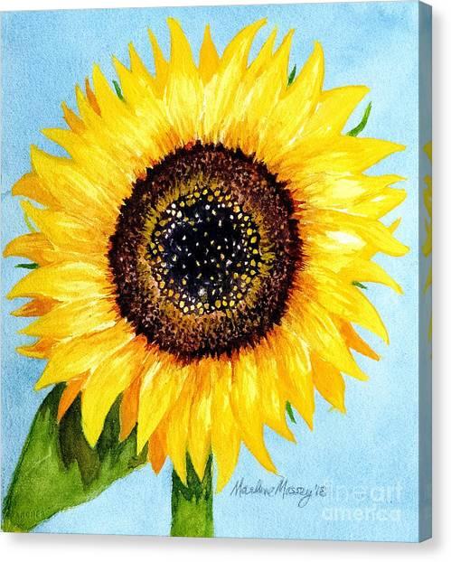 Sunny Canvas Print