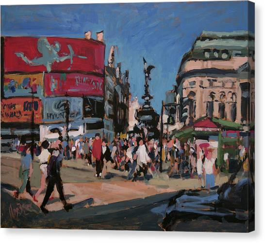 Briex Canvas Print - Sunny Piccadilly by Nop Briex