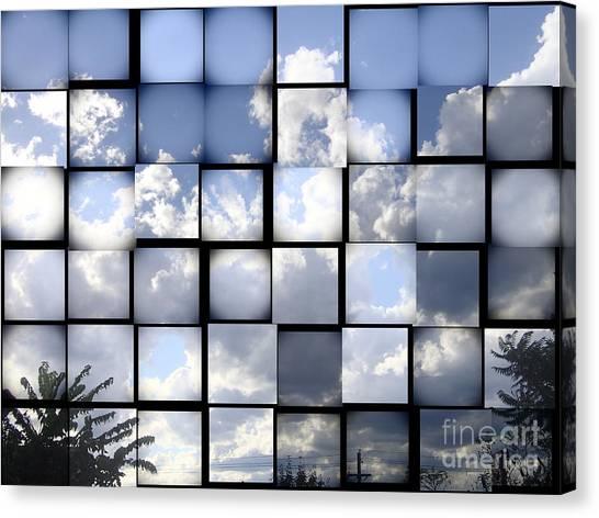Sunny Sky Canvas Print