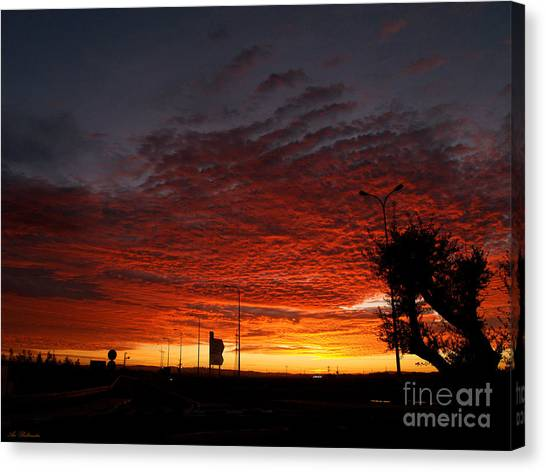 Sunrise 01 Canvas Print