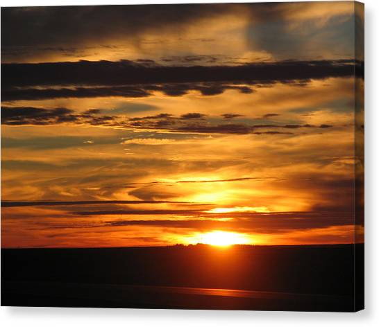 Sunrise 1 Canvas Print