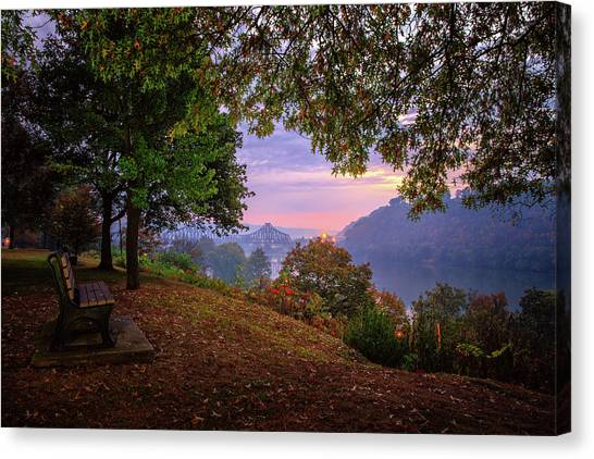 Sunrise At River Rd  Canvas Print