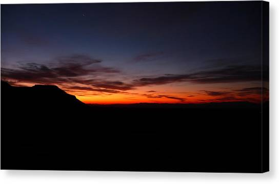 Sunrise At Hole-in-the-wall Canvas Print