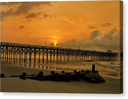 Sunrise At Pawleys Island Canvas Print
