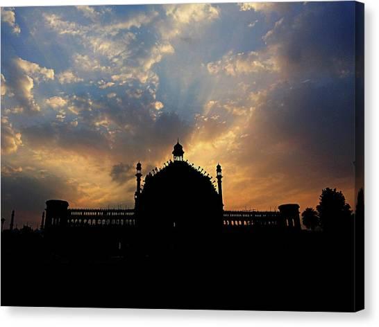 Sunrise At Rumi Gate Canvas Print