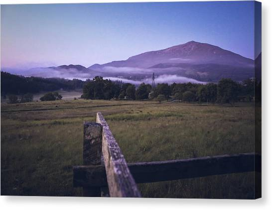 Canvas Print - Sunrise At Schiehallion by Jo Jackson