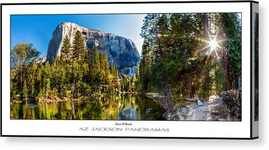 Yosemite Canvas Print - Sunrise At Yosemite Poster Print by Az Jackson