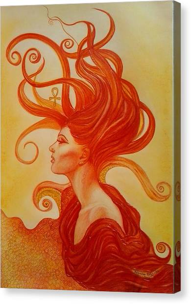 Sunrise Aton Canvas Print