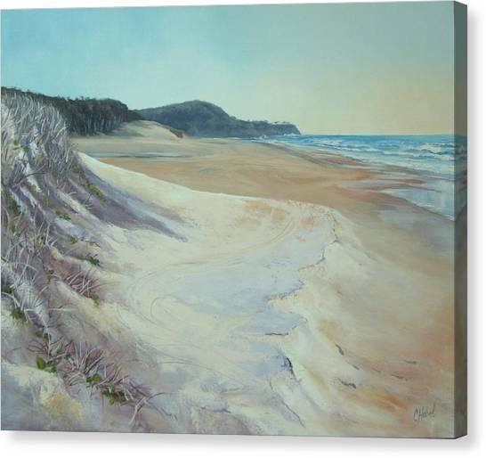 Sunrise Beach And Lions Head Noosa Heads Queensland Canvas Print