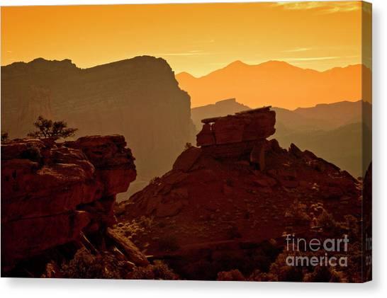 Capital Reef Sunrise Canvas Print