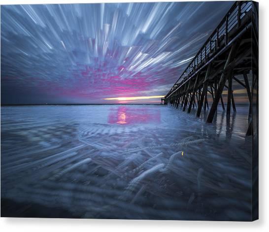 Sunrise Color Canvas Print