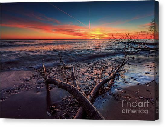Sunrise Crossing  Canvas Print