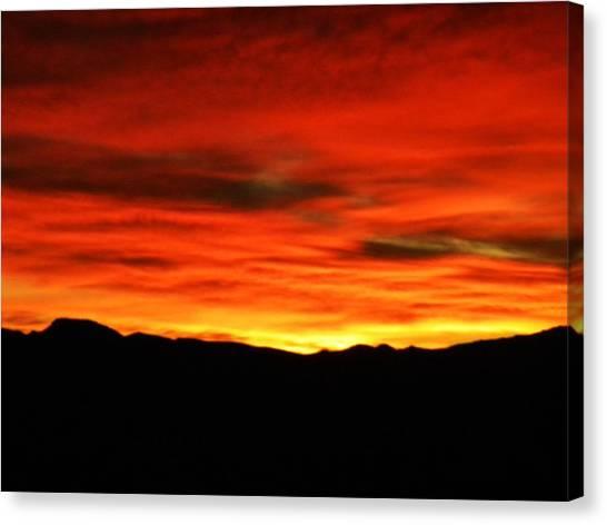 Sunrise Canvas Print by Eric De La Fuente
