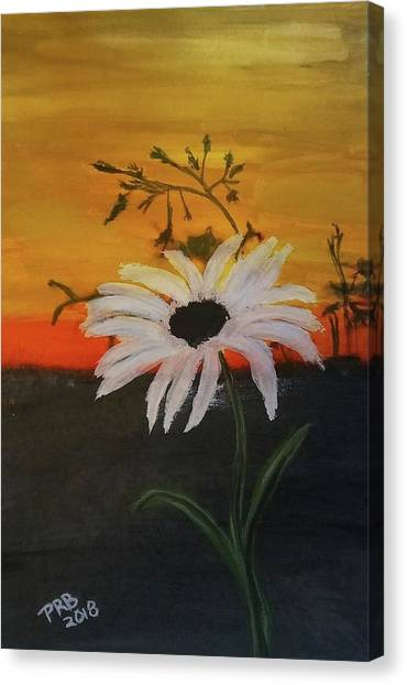 Canvas Print - Sunrise Flower by Pamula Reeves-Barker