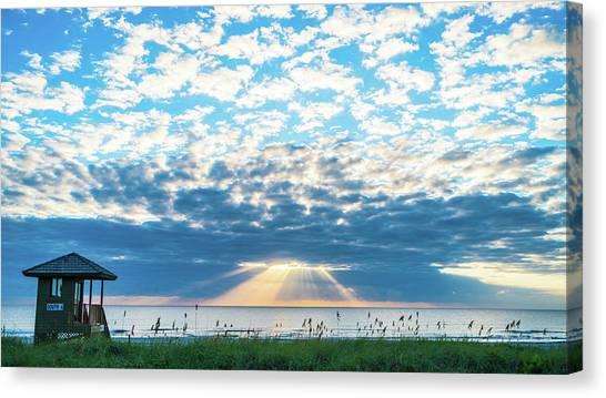 Sunrise Hope Delray Beach Florida Canvas Print
