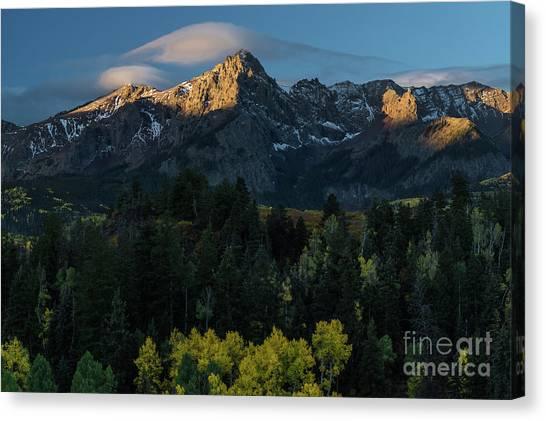 Sunrise In Colorado - 8689 Canvas Print