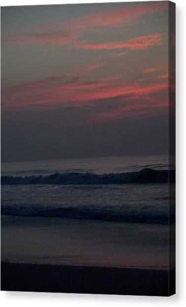 Sunrise In North Carolina Canvas Print