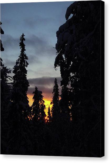 Canvas Print - Sunrise In Syote by Jo Jackson