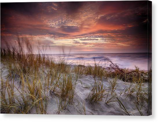 Sunrise In The Breeze Canvas Print
