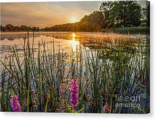 Sunrise Kent Lake Canvas Print