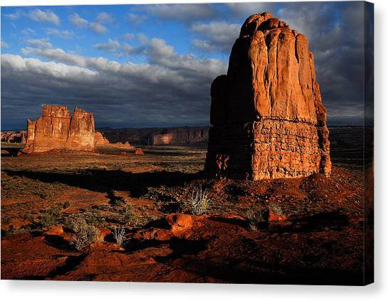 Sunrise La Sal Mountains Canvas Print