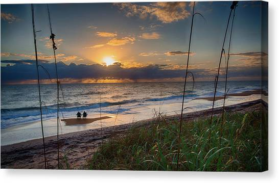 Sunrise Love Canvas Print