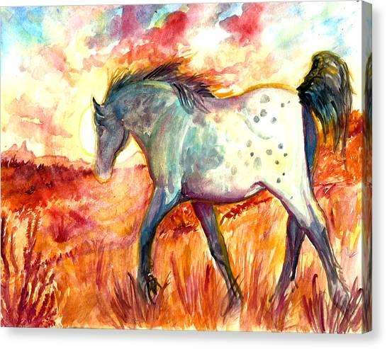 Sunrise Mare Canvas Print