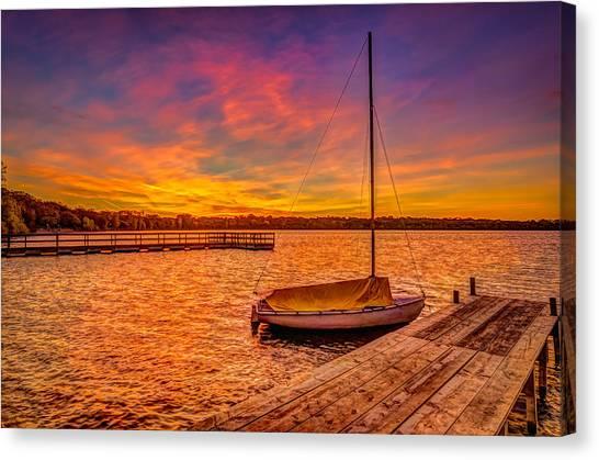 Sunrise Minneapolis Canvas Print