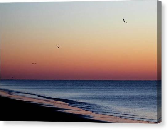 Sunrise On Hilton Head Canvas Print