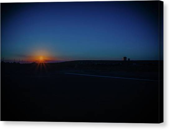 Sunrise On The Reservation Canvas Print
