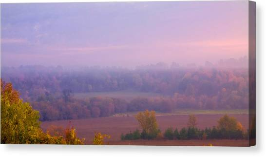 Sunrise Over Mid Valley 2 Canvas Print