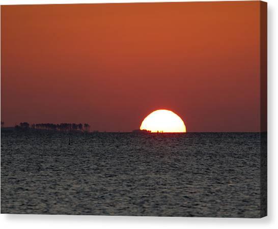Sunrise Over The Bay 5x7 Canvas Print
