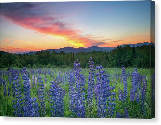 Sunrise Over The Ridge Canvas Print