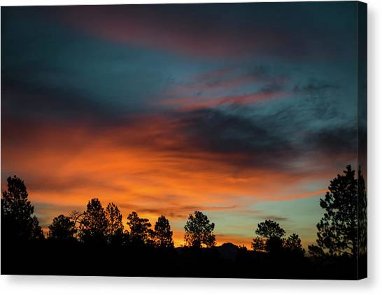 Sunrise Over The Southern San Juans Canvas Print