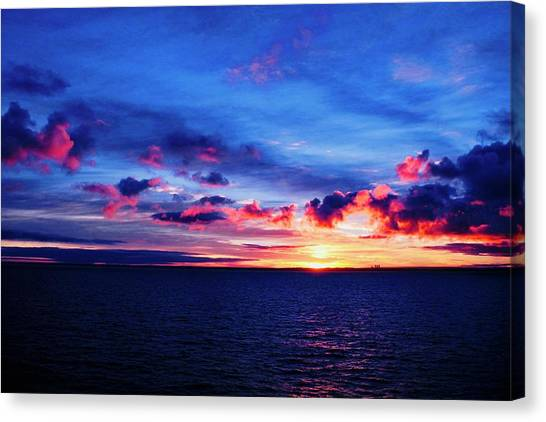 Sunrise Over Western Australia I I I Canvas Print