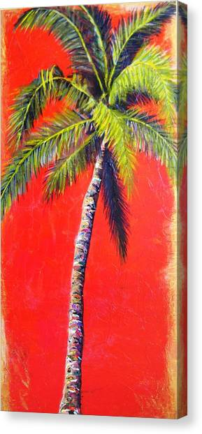 Sunrise Palm Canvas Print