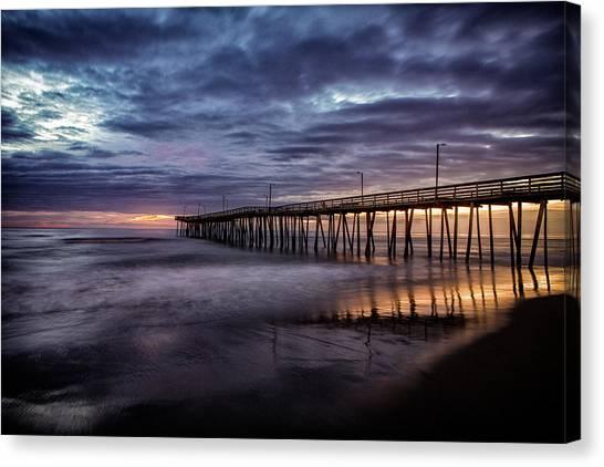 Sunrise Pier Canvas Print