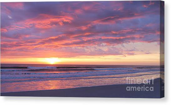 Sunrise Pinks Canvas Print