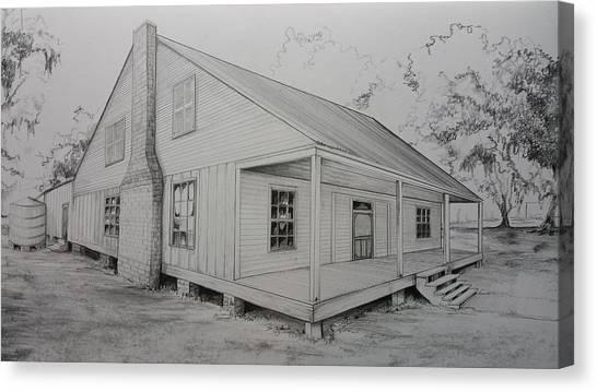 Sunrise Plantation  Canvas Print
