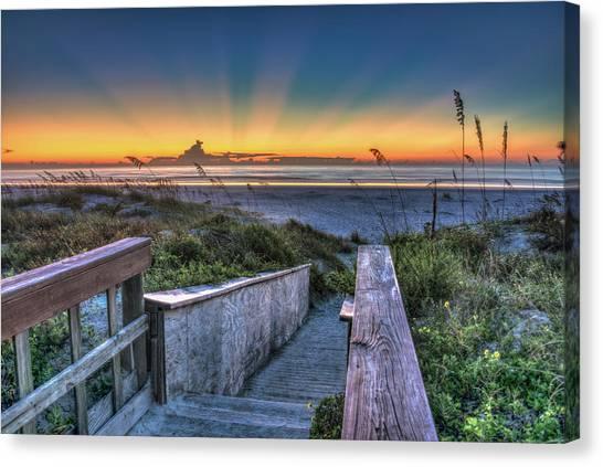 Sunrise Radiance Canvas Print