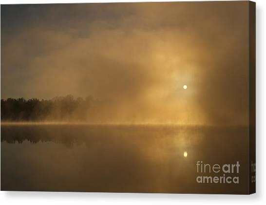 Sunrise Relections Canvas Print