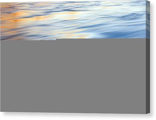 Wave Canvas Print - Sunrise Ripple by Mike  Dawson