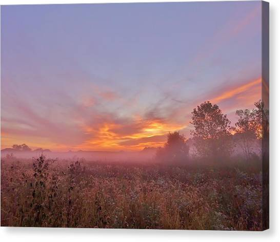 Canvas Print - Sunrise Show by Red Cross