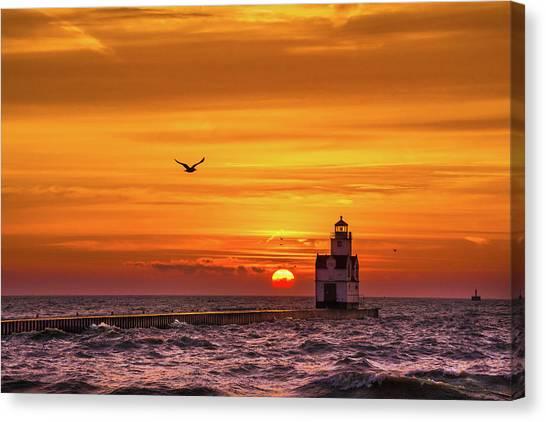 Sunrise Solo Canvas Print
